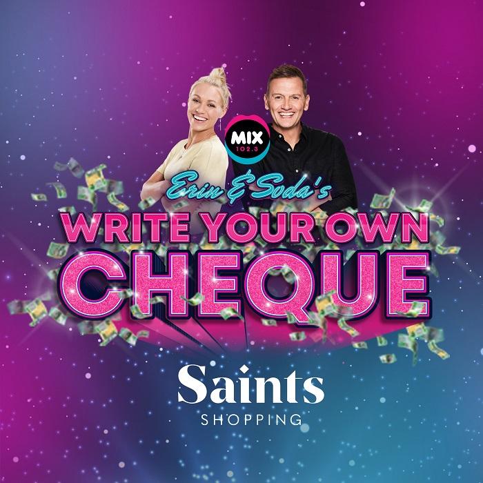 Erin & Soda's Write Your Own Cheque